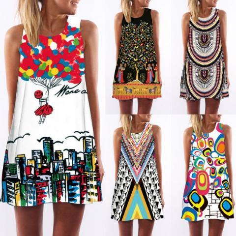 vestidos de verão fácil de fazer