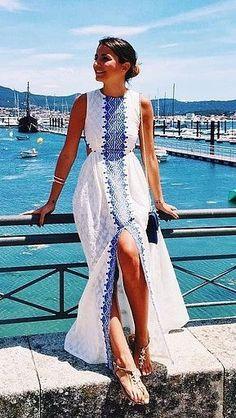 vestido de verão leve